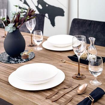 Manufacture Rock blanc dinner set