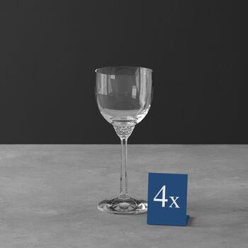 Octavie verre à vin rouge, 4pièces