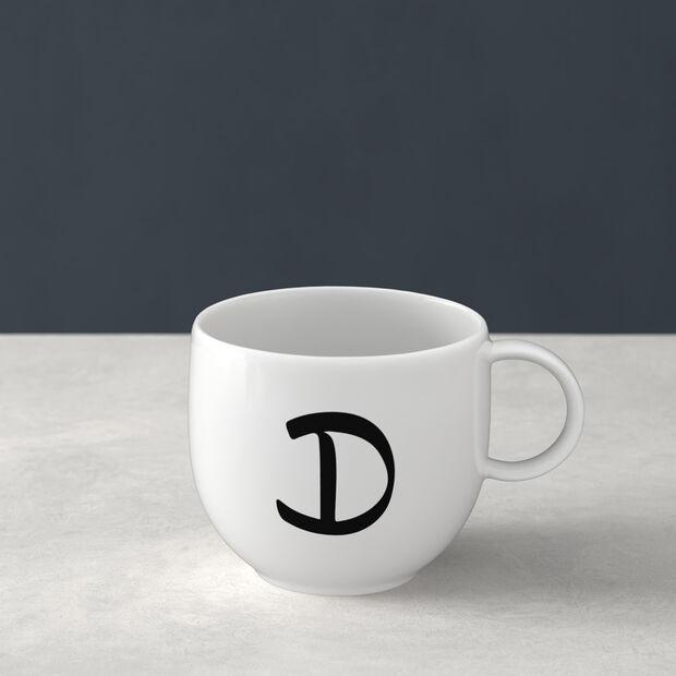 Mug Letters D 13x10x8cm, , large