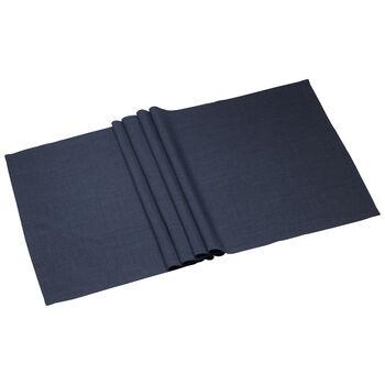 Textil Uni TREND Striscia vintage blue 50x140cm