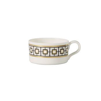 MetroChic tazza da tè, 230 ml, bianco-nero-oro