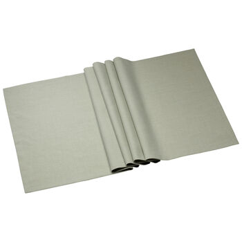 Textil Uni TREND Striscia fog green 78 50x140cm
