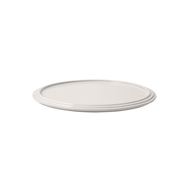 Iconic assiette à servir, blanche, 24x1cm, , large