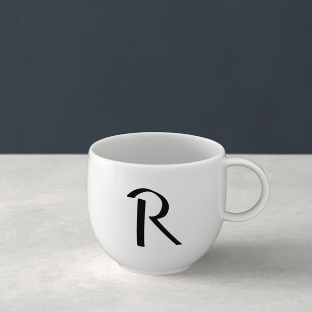 Mug Letters R 13x10x8cm, , large