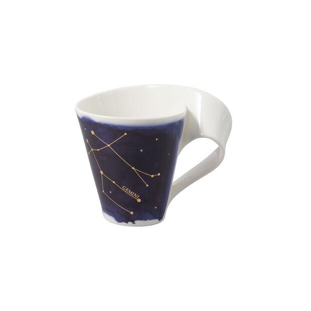 NewWave Stars Becher Zwillinge, 300 ml, Blau/Weiß, , large