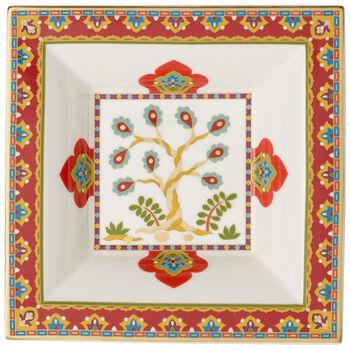 Samarkand Accessories quadratische Schale