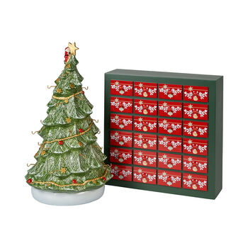 Christmas Toys Memory Adventskalender-Set, Inklusive Baum, 26-teilig