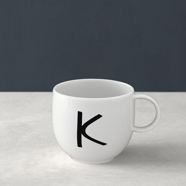 Letters Tazze K 13x10x8cm, , large
