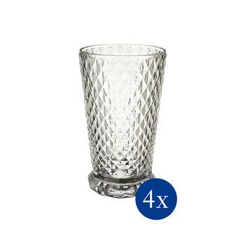 Boston Flare verre à long drink, 4pièces