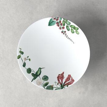 Avarua assiette creuse, 22cm, blanche/multicolore