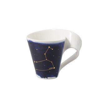 NewWave Stars Becher Löwe, 300 ml, Blau/Weiß