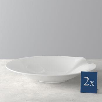 Pasta Passion Assiette à Spaghetti Set 2 pcs. 30,7x26,3x5,7cm