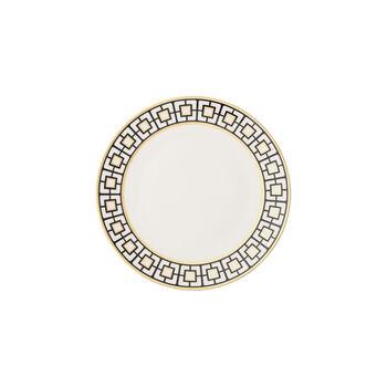 MetroChic piatto da pane, bianco-nero-oro