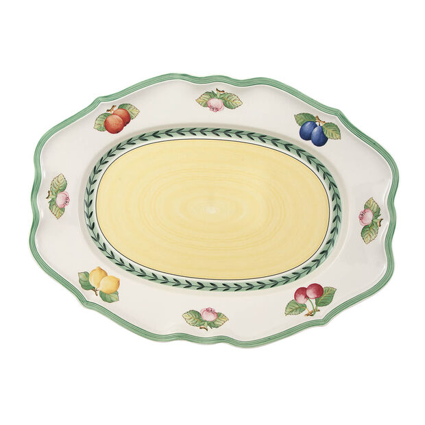 French Garden Fleurence piatto ovale 44 cm, , large