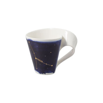 NewWave Stars mug cancer, 300 ml, bleu/blanc