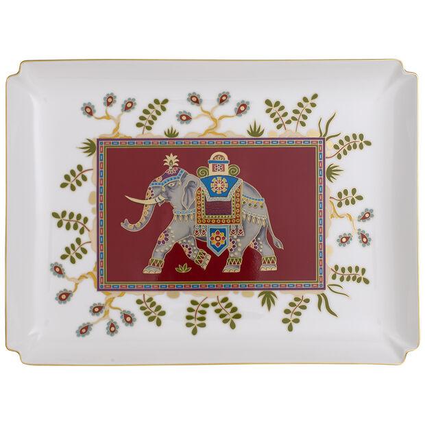 Samarkand Rubin Gifts Piatto decorativo grande 28x21cm, , large