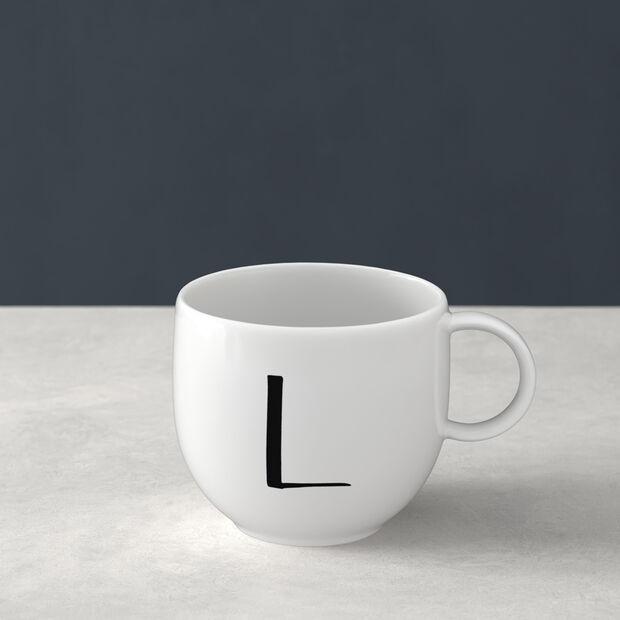 Letters Becher L 13x10x8cm, , large