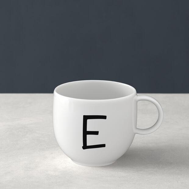 Letters Becher E 13x10x8cm, , large