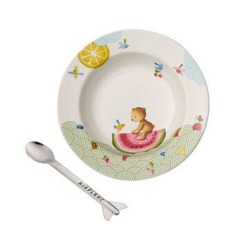 Hungry as a Bear Set da pranzo per bambini, 2pz