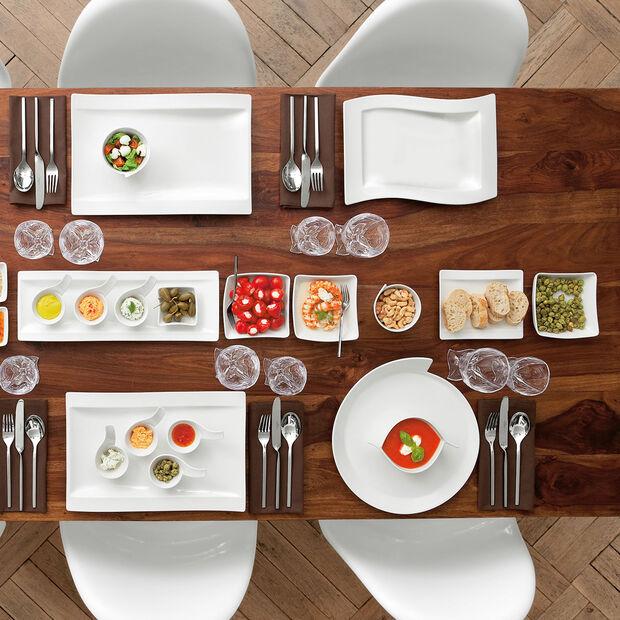 NewWave assiette gourmet 33x24cm, , large