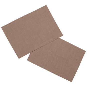 Textil Uni TREND Tovaglietta castano 2pz. 35x50cm