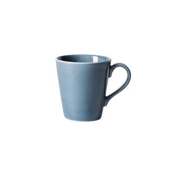 Organic Turquoise tazza con manico, turchese, 350 ml