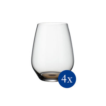Colourful Life Natural Cotton Cocktail-/Wasserglas-Set 4-teilig