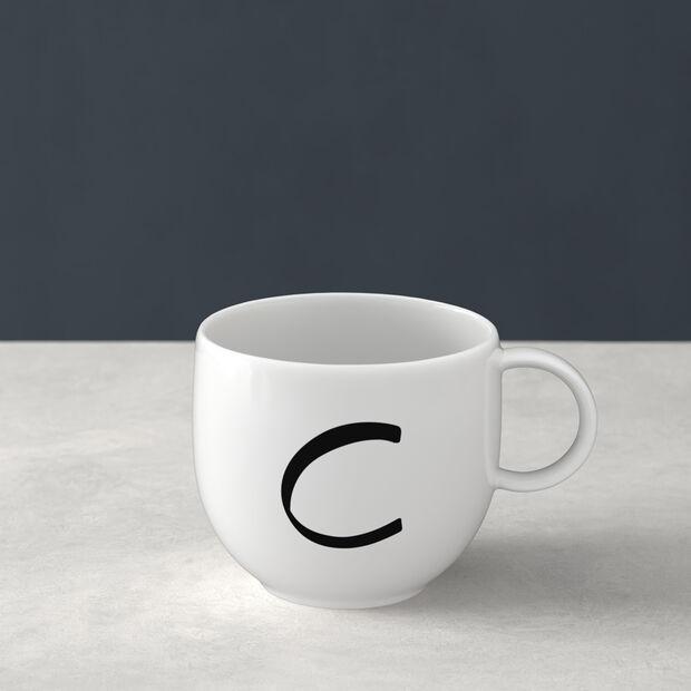 Mug Letters C 13x10x8cm, , large