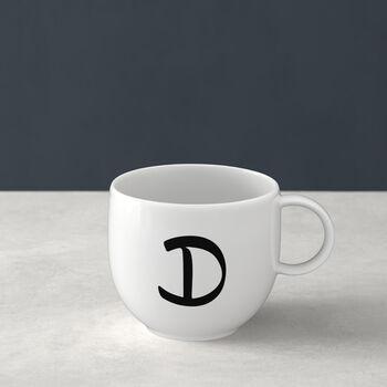 Mug Letters D 13x10x8cm