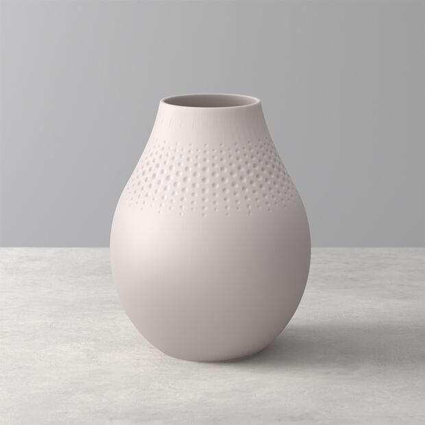 Manufacture Collier vaso, 16x20cm, perla, beige, , large
