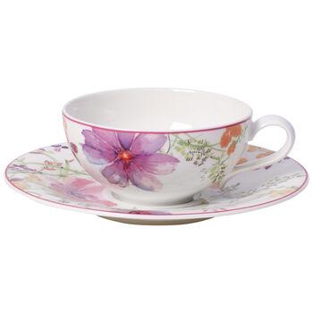 Mariefleur Tea Tasse à thé avec soucoupe 2pcs