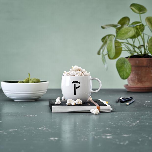 Mug Letters P 13x10x8cm, , large