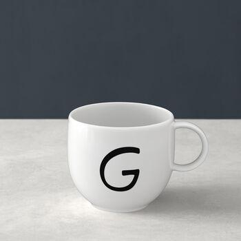 Mug Letters G 13x10x8cm
