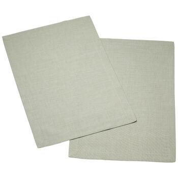 Textil Uni TREND Tovaglietta fog green Set 2 35x50cm