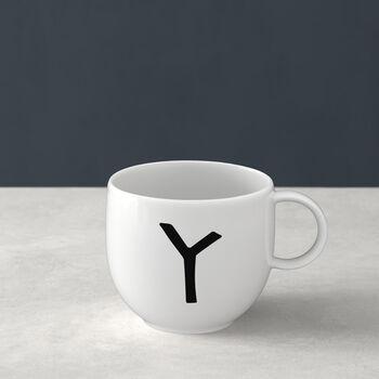 Mug Letters Y 13x10x8cm
