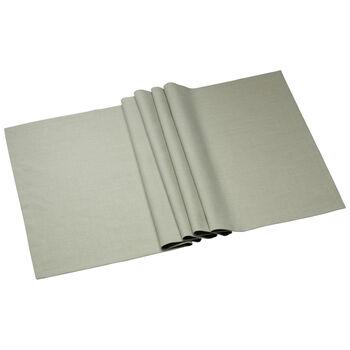 Textil Uni TREND Chemin de table fog green 78 50x140cm