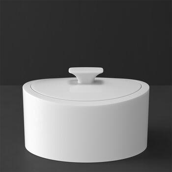 MetroChic blanc Gifts Scatola di porcellana 16x13x10cm