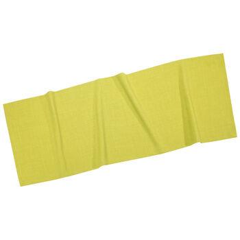 Textil Uni TREND Chemin de table limon 50x140cm