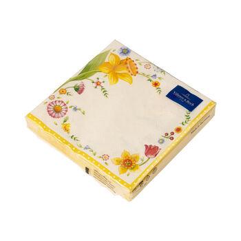Easter Accessoires Serviette table Spring Fant. Paquerette, 20pièces, 33x33cm