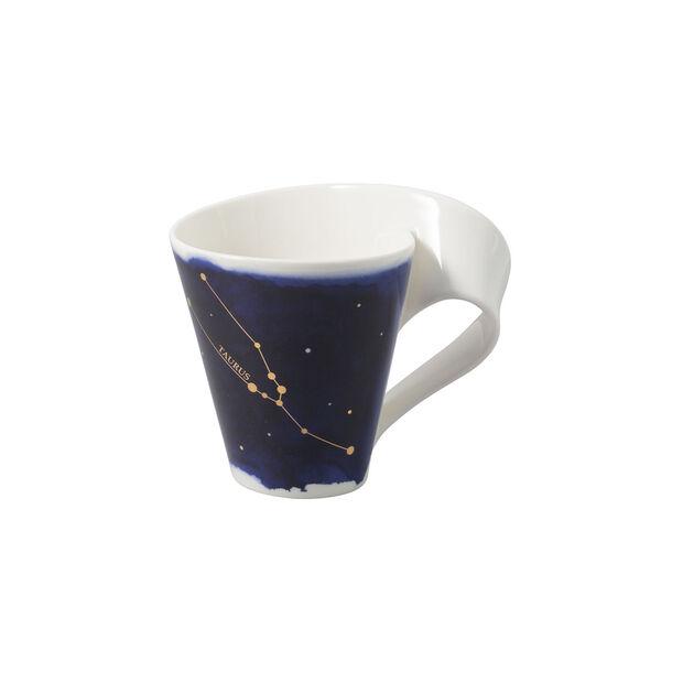 NewWave Stars Becher Stier, 300 ml, Blau/Weiß, , large