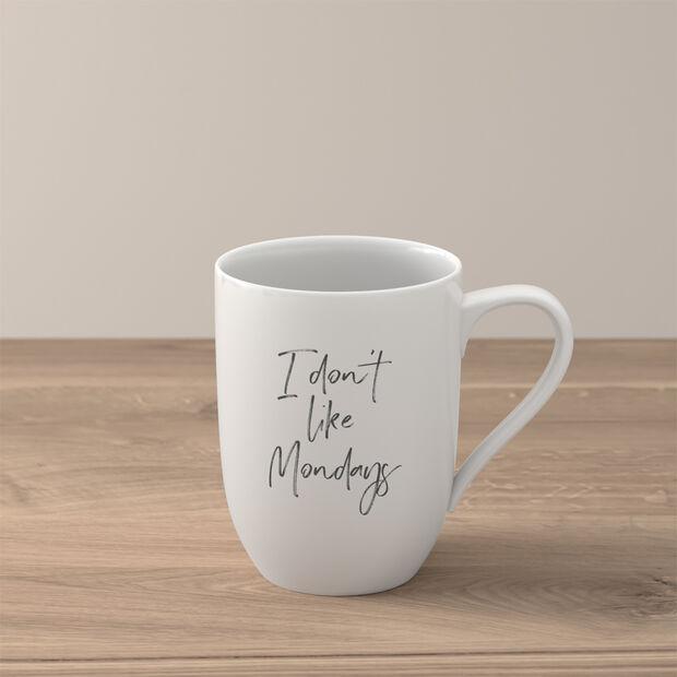 Statement mug «I don´t like Mondays», , large