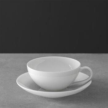 Anmut Tasse à thé avec soucoupe 2pcs