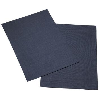 Textil Uni TREND Platzset vintage blue Set 2 35x50cm