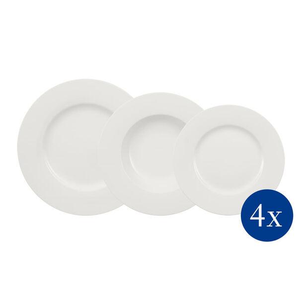 Wonderful World White set di piatti 12 pezzi, , large