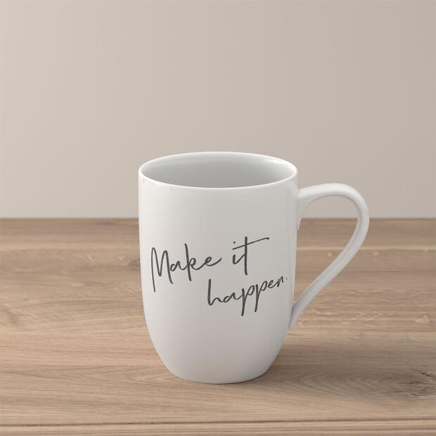 Statement mug «Make it happen», , large