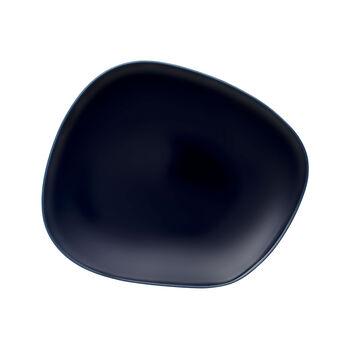 Organic Dark Blue assiette plate 28x24x3cm
