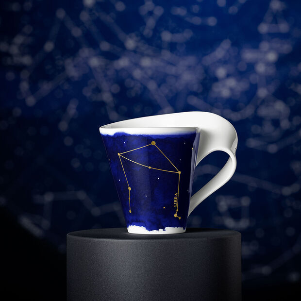 NewWave Stars Becher Waage, 300 ml, Blau/Weiß, , large