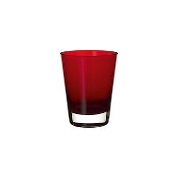 Colour Concept verre à cocktail/à eau Red