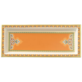 Samarkand Mandarin coppetta rettangolare 25x10 cm