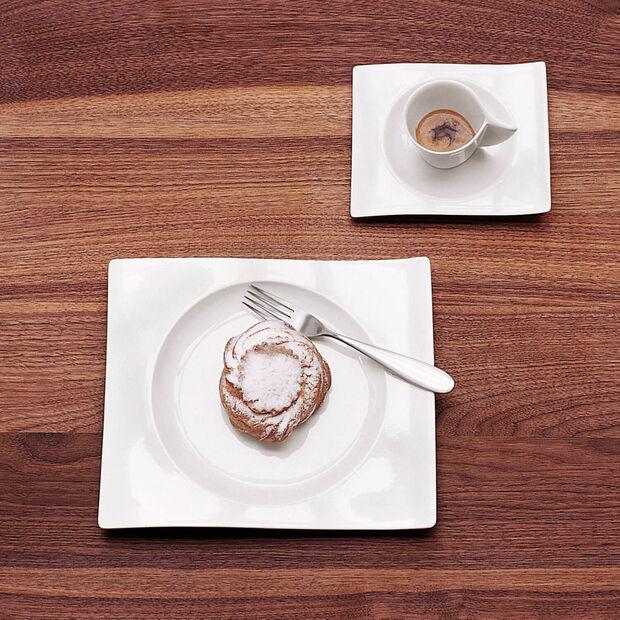 NewWave rechteckiger Frühstücksteller 24 x 22 cm, , large